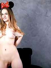She Has Put On A Great Show As She Was Playing A Cute Role While She Showed You That Amazing Pink Pu