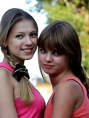 Nothing Can Stop These Passionate Lesbian Teens With Sweet Bodies From Making Love To Each Other.