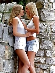Blonde Goddesses Sicilia And Noleta Have A Horny Fuck Fest Licking Each Others Asses And Fingering E