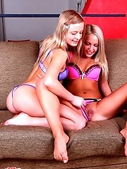 These Gorgeous Teens Have Such Wonderful Bodies That They Cannot Resist Each Other And Lay Down For
