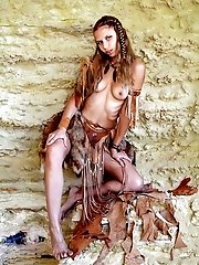 Like Medicine Men Between Ancient People, This Sexy Girl Represents A Mystery For The World. Check I
