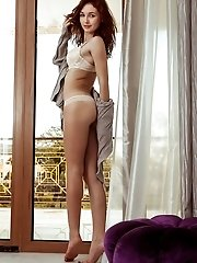 She Has Lovely Blazing Hair And Some Stunning Curves To Be Proud Of Whenever She Is Stripping All He