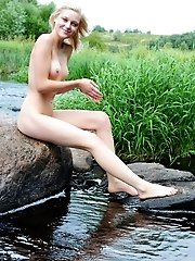 Petite Beauty Feels An Urging Need To Strip Off All Her Clothes And Let Her Beauty Run Wild And Free