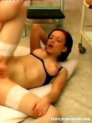 Cute Nurse Has Come To Seduce This Experienced Banger